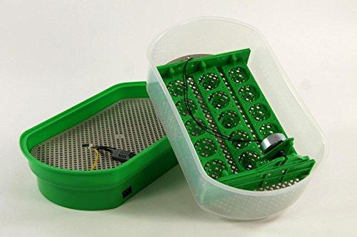 Inkubator VOLLAUTOMATISCH BK15Pro + Zubehör, 15 Eier, Brutautomat, Brutmaschine - 4