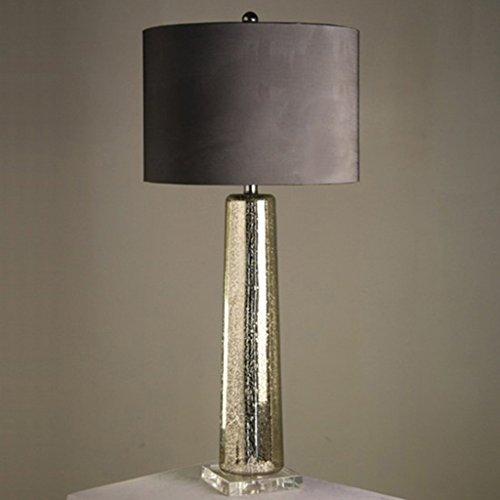 Lampe de table F Lampe de Table en Cristal - Moderne Chinois Verre de Haute Qualité Style Sud-Est Asiatique - Lampe de Table en Verre Européenne Modèle Américain Salon Chambre Lampe