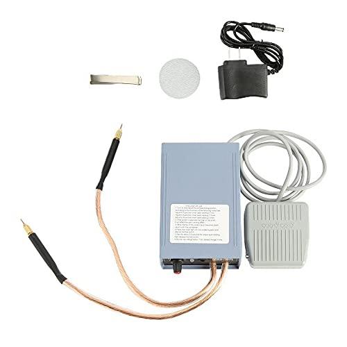 Soldadora de puntos a batería 18650, kit soldador portátil ajustable 5000 W, pequeña herramienta de soldadura manual, cómoda y de alta potencia