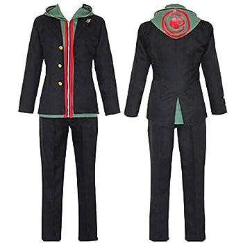 MIAOCOS Makoto Naegi Cosplay Costume Adult Men s Hoodie Jacket Halloween Party Danganronpa V3 Outfits Black