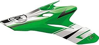 Green/White/Black Arai VX-Pro 4 Tip Helmet Visor