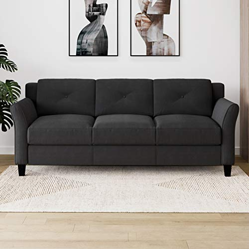 Lifestyle Solutions Harrington Sofa in Black