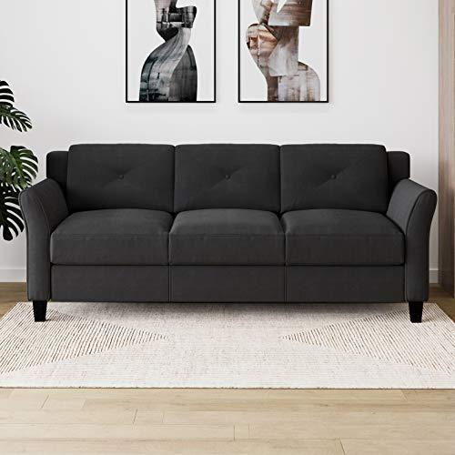 Lifestyle Solutions Harrington Sofa in Black