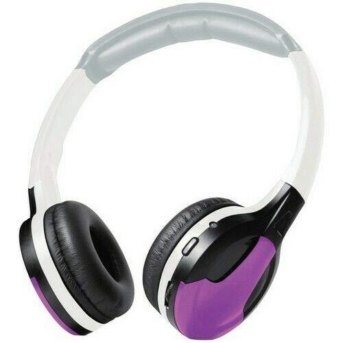 Xovision IR630PR Purple Cushion Universal IR Wireless Foldable Headphones 817707012096
