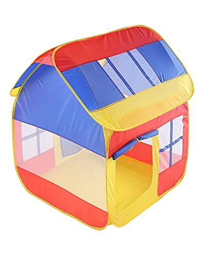 NIU Tienda de campaña para niños Tienda de Juegos para niños Pop Up Plegable Tienda de campaña para Casas Play House niños Uso Interior y Exterio (Color : Colorful, Size : 110 * 105 * 120cm)