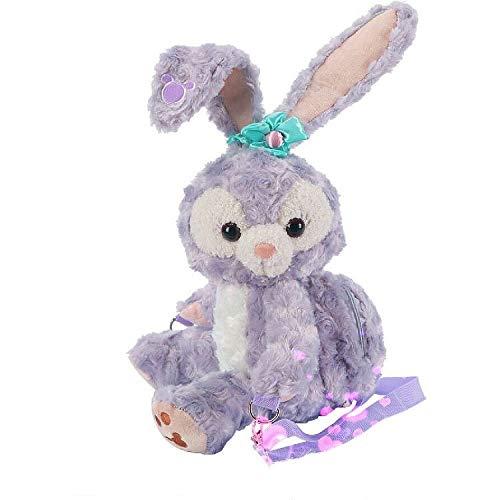 HEAGREN Estrella de rocío Shelly Rose Monedero, Duffy Stella Conejo de Peluche de Juguete Conejo de la Bailarina Titular de la Tarjeta Crossbody muñeca-15-88cm (Color : 2)