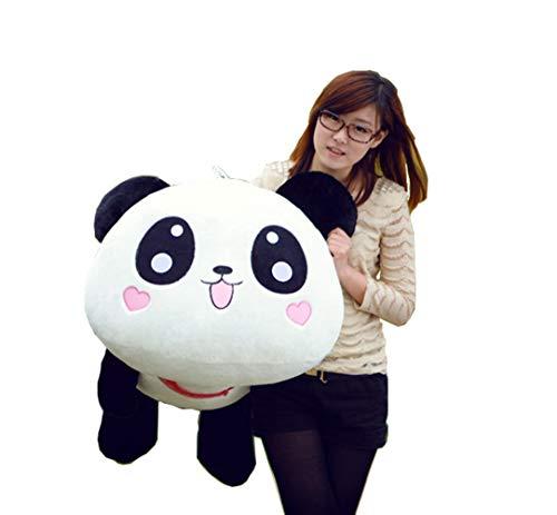 YunNasi 70cm Rond Panda Peluche Jouet d'Enfant Coussin en Forme de Panda