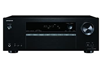 Onkyo Surround Sound Audio & Video Component Receiver Black  TX-SR383