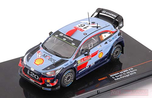 Ixo Model RAM677 Hyundai i20 WRC N.16 Rally Portugal 2018 SORDO-del Barrio 1:43 Compatible con