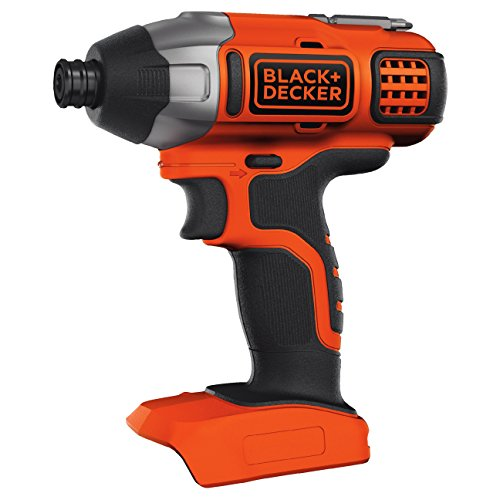 BLACK+DECKER 18 V Cordless Impact Power Drill Driver, Battery Not Included, BDCIM18N-XJ