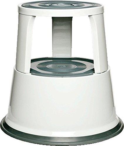 Alco 895-10 Rollhocker Metall weiß