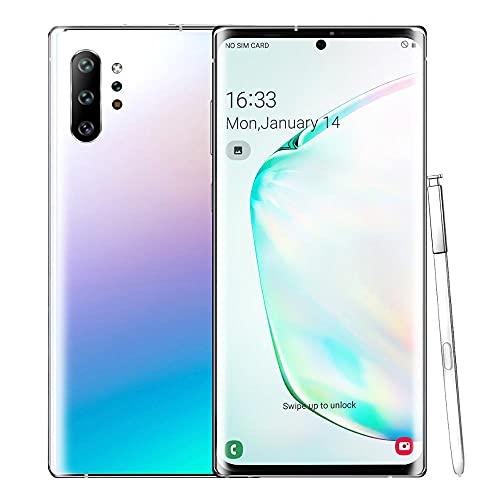 LIZONGFQ 10+ Android 9.0 4800mAh 3GB RAM 32GB ROM Smartphone 6.8 Pulgadas FullView Visualización Pantalla Dual Cámaras Teléfono Móvil,C