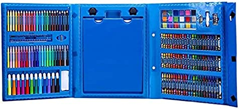 St. Lun Art Supplies Drawing Kit,208pcs Art Drawing Set Children's Painting Tools Watercolor Pens/Crayons/Oil Pastels/Colo...