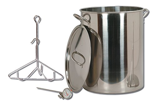 Best Prices! King Kooker 30-Quart Stainless Steel Turkey Pot Package