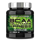 Scitec Nutrition Acides Aminés BCAA + Glutamine Xpress Lime 600 g