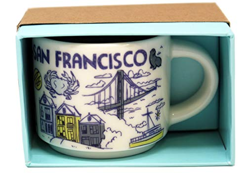 San Francisco Starbucks Been There Serie Ornament, 57 ml