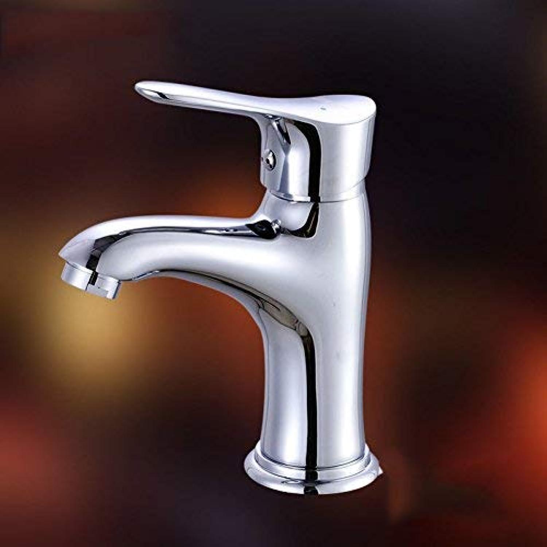 ZHAS Zuhause Ware Wasserhahn Bad Messing hei kalt Einlochmontage Waschbecken Wasserhahn unter Aufsatzbecken Waschbecken Mischwasserhahn Grüneilereinlassrohr
