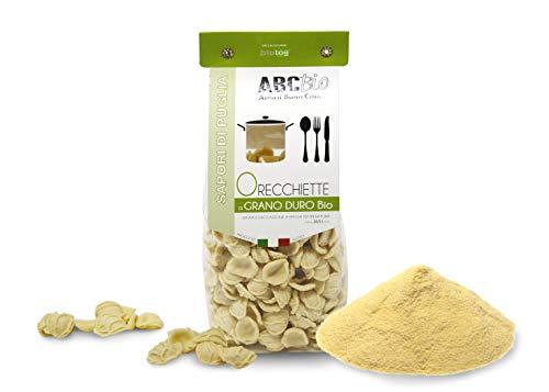 Carioni Food & Health Lot de 12 boucles d'oreilles en grain dur bio 500 g