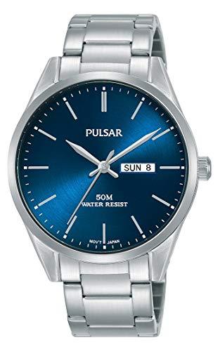 Seiko UK Limited - EU Reloj Pulsar de Cuarzo con Pulsera de Acero Inoxidable PJ6109X1