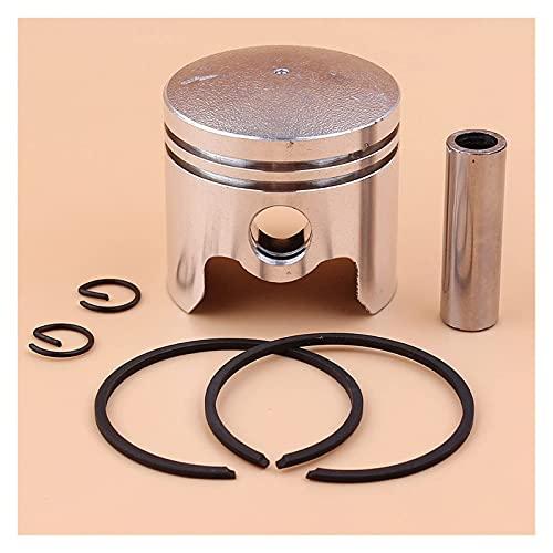 Juego de anillos de pasador de pistón de 40 mm Compatible con 40-5 43cc BC430 CG430 1E40F-5 Desbrozadora Accesorios para desbrozadora Cortacésped Pasador de 10 mm