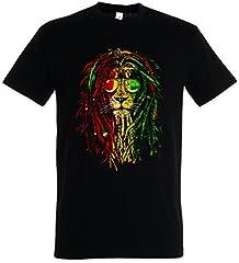 Rastafari Lion I Camiseta De Hombre T-Shirt