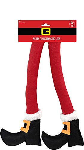 santa claus legs