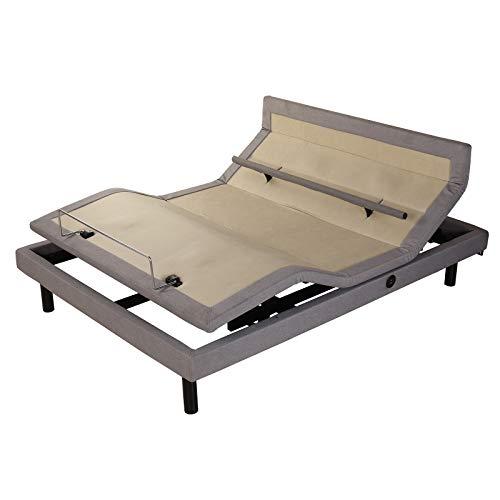 FC-Bed Wireless elektrisch verstellbare Bett Framework mit ausladender Funktion, Head...