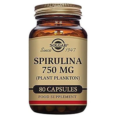 Solgar Spirulina 750 mg Tablets - Pack of 80