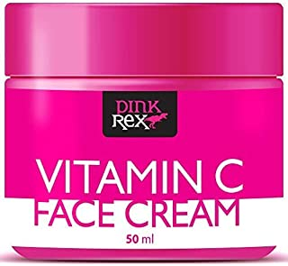 Vitamin C Face Cream with Hyaluronic Acid. Handmade in the USA. Wonderful for Skin & Face, Hides Fine Lines & Wrinkles. This Powerful Cream is also a Marvelous Moisturizer. Stunning Dark Spot Removal.