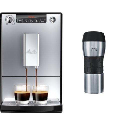 Melitta E 950-103 Kaffeevollautomat Caffeo Solo + Melitta 206056 IsolierTrinkbecher