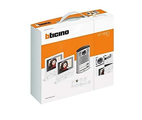 Bticino Kit Video Classe 100 V16B Bifamigliare, Linea 2000