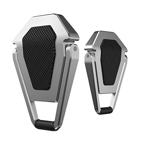 rongweiwang 1 par portátil Soporte de Metal Plegable del Ordenador Soporte Antideslizante Soporte de Escritorio del Ordenador portátil del Ordenador portátil de refrigeración Accesorios Holder