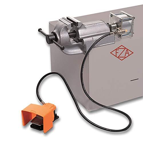 LEINEN-Parallel-Schraubstock PNEUMATIK 125mm