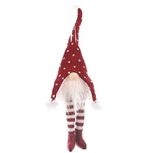 Decoraciones de árbol de Navidad lindo y creativo juguete de felpa para decoraciones de Navidad, fiesta de Navidad decoración de mesa