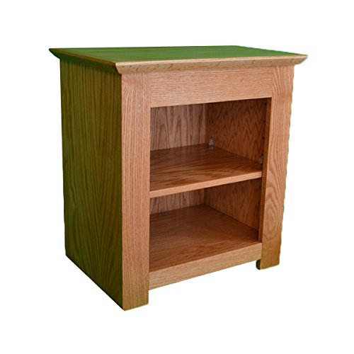 Secret Compartment Nightstand (Diversion Safe) with RFID Lock - Autumn Stain