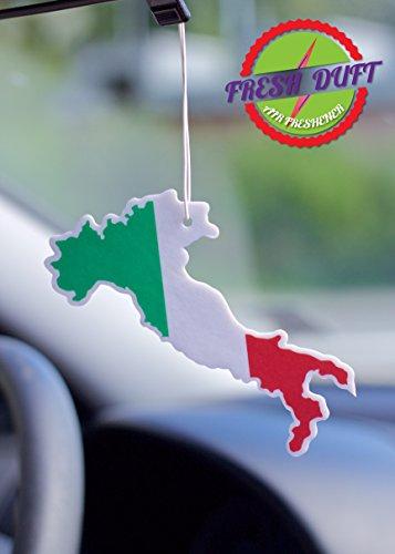 Ambientador Fresh Ambientador Coche Forma país Italia