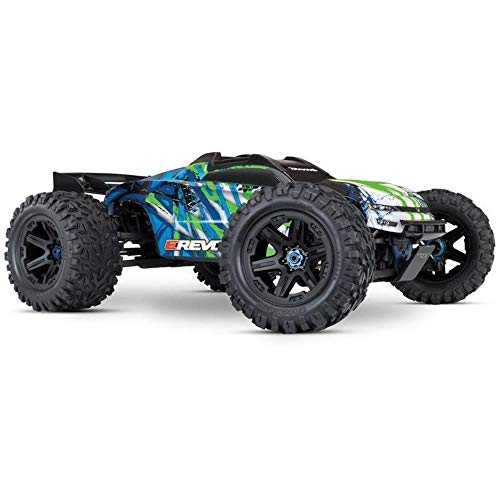 TRAXXAS E-REVO BRUSHLESS RTR 4WD VERSION 2018 1/8 TQI 115+ KM/H ALLRAD BRUSHLESS RACING TRUCK