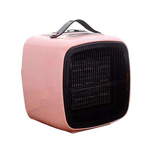 A-Generic Heater Home Bedroom Desktop Small Heater Timed Heating and Cooling Mini Heater