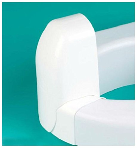 COLIBYOU Splash Guard Toilet Seat Directs Urine Home Care Disability Elevated