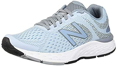 New Balance Women's 680v6 Cushioning Running Shoe, air/Reflection, 6 B US