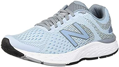 New Balance Women's 680v6 Cushioning Running Shoe, air/Reflection, 8 W US