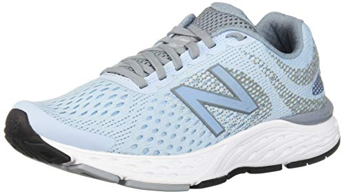 New Balance Women's 680v6 Cushioning Running Shoe, air/Reflection, 7.5 B US