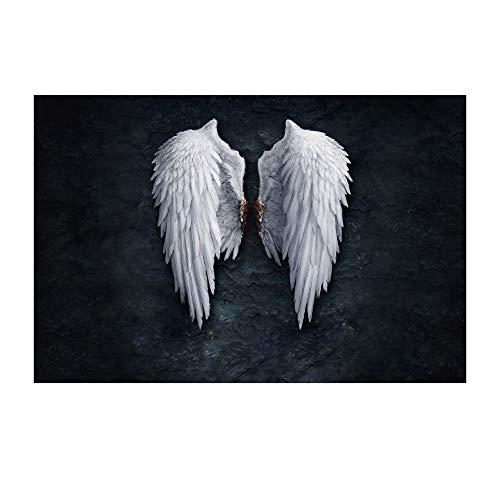 GX Alas de ángel decoración de la Pared, Arte de la Pared Pintura Cuadros impresión en Lienzo Paisaje la Imagen para el hogar decoración Moderna (Pintura sin Marco)