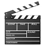 Okayji Movie Director Clap Board Clapper Clapboard Action Board, Black most expensive gemstones Feb, 2021