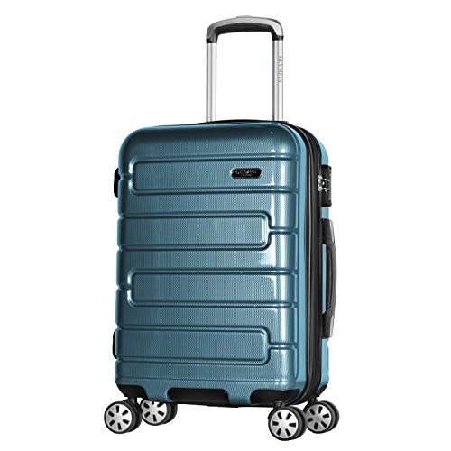 Olympia Nema 22' Exp. Carry-on Spinner, Teal, One Size