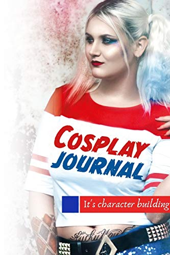 Cosplay Journal. A blank lined notebook for girls who love to dress up.