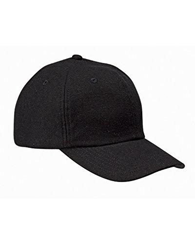 BA528 BX BA528 WOOL BASEBALL CAP BLACK OS