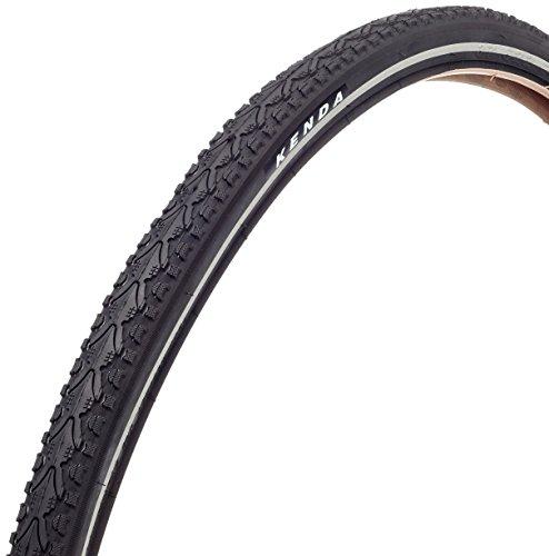 KENDA KAHN Fahrradreifen-Set, schwarz, 700 x 45C