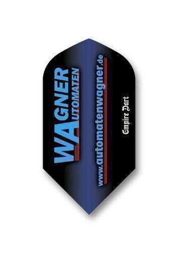 Dart-Flight-Set:Slim,Polyester von Wagner Automaten