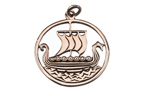 Svold - Großes Drachenschiff (Kettenanhänger in Bronze)   Wikingerschiff, Drachenboot